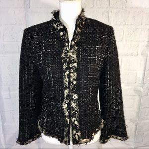 Nipon Boutique Blazer Jacket Size 6